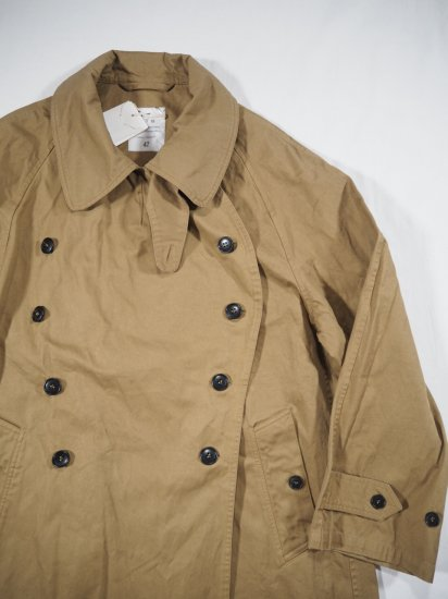 HTS COTTON DOUBLE OVER COAT NHT2052DT 6