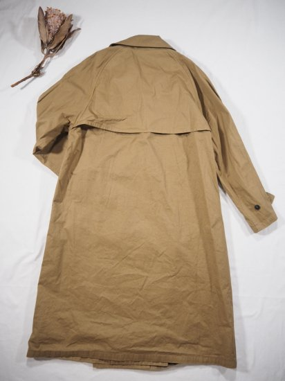 HTS COTTON DOUBLE OVER COAT NHT2052DT 7