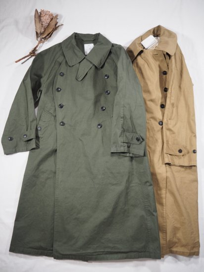HTS COTTON DOUBLE OVER COAT NHT2052DT 8