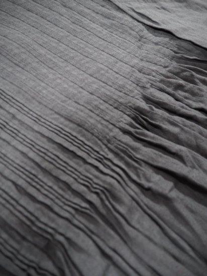 maison de soil V-NECK DRESS WITH RANDOM PLEATS INMDS20704 6
