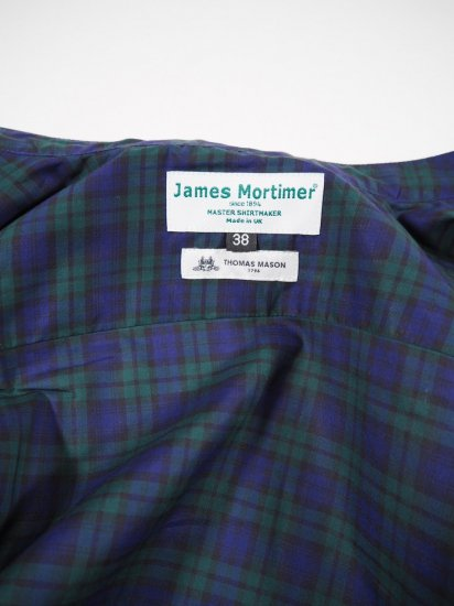 James Mortimer  BAND COLLAR SHIRT DURRANTS 4