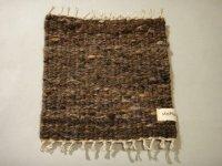 stoffa 手紡ぎ手織りポットマット 244