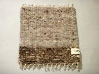 stoffa 手紡ぎ手織りポットマット 243