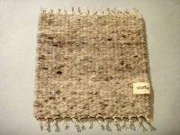 stoffa 手紡ぎ手織りポットマット 242