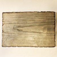 KINTA STUDIO 木のトレー クリ 墨仕上げ