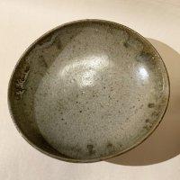 江原法雄 灰釉 7寸楕円鉢-2