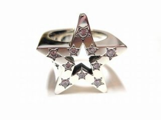 BANKROBBER STAR BRIGHT RING(シルバー)