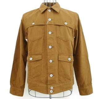 CASH CA HB MACKINAW JACKET(キャメル)