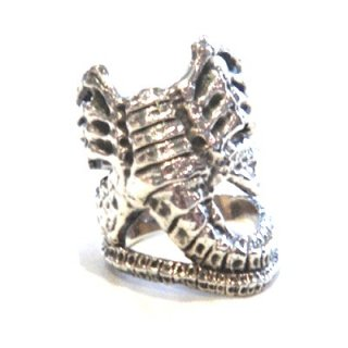 Crazy Pig Designs FACE HUGGER RING