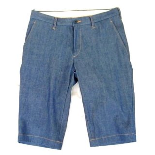 ENGLATAILOR Denim Half Pants(ブルー)