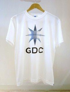 GDC GDC CHECK tee(ホワイト)