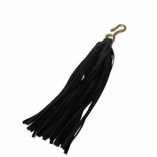 hobo Pig Suede Tassel Key Ring(ブラック)
