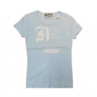 NARCOTIC LADYS T-SHIRT(ブルー)