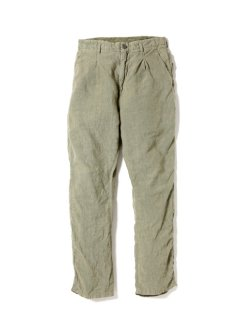 nonnative POSTMAN PANT LINEN CANVAS OVERDYED
