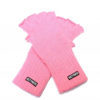 WACKO MARIA WOOL&MOHAIR FINGERLESS GLOVES(ピンク)