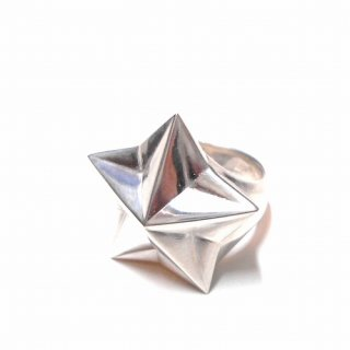 WACKO MARIA STAR RING ( TYPE-1 )(シルバー)