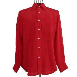 WACKOMARIA SILK DRESS SHIRT(レッド)