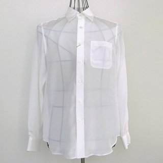 WACKOMARIA SILK DRESS SHIRT(ホワイト)