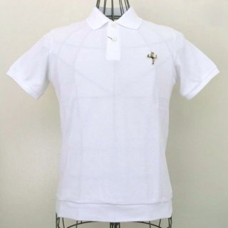 WACKOMARIA POLO SHIRT(BUNNY GIRL)(ホワイト)
