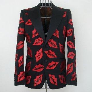 WACKOMARIA KISS TUXEDO CLOTH PEAKED JKT(ブラック/ジプシー)