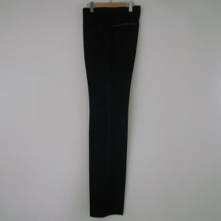 WACKOMARIA TUXEDO CLOTH PNT(REGULAR)(側章)(ブラック)