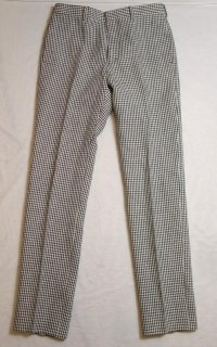 WACKOMARIA LINEN GINGHAM CROPPED PANTS(ブラック)