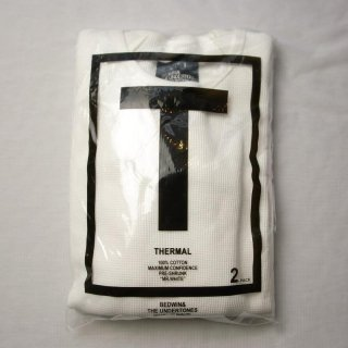 BEDWIN & THE UNDERTONES L/S C-NECK THERMAL 2PACK T