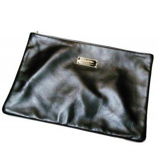 WACKO MARIA CLUTCH BAG(ブラック/ブラック)