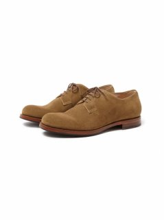 nonnative CLERK PLAIN TOE SHOES COW SUEDE
