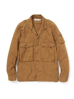 nonnative ROAMER SHIRT C/S TWILL OVERDYED