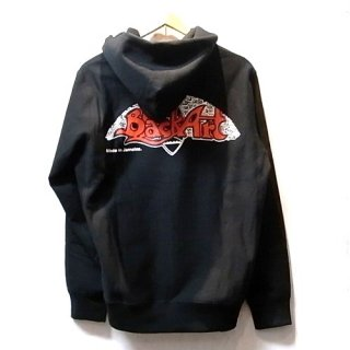 WACKO MARIA LEE PERRY HEAVYWEIGHT PULLOVER HOODED SWEAT SHIRT (TYPE-5)(ブラック)