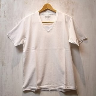 WACKO MARIA HEAVY WEIGHT V NECK T-SHIRT(ホワイト)