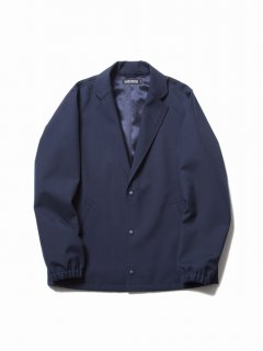 COOTIE Wool Serge Lapel Coach Jacket(ネイビー)