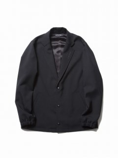 COOTIE Wool Serge Lapel Coach Jacket(ブラック)
