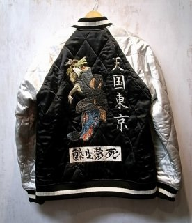WACKO MARIA REVERSIBLE SKA JACKET -B- ( TYPE-2 )(ブラック×ブラック)