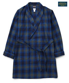 DELUXE ×PENDLETON CHECKED GOWN(ブルー)