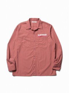 COOTIE T/C Work Shirt(ピンク)
