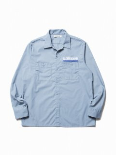 COOTIE T/C Work Shirt(サックス)