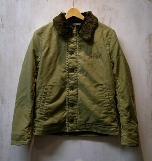 WACKO MARIA DECK JACKET ( TYPE-1 )(カーキ)