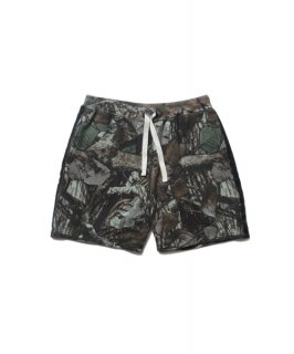 ROTTWEILER Leaf Camo Sweat Shorts(カモ)