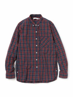 nonnative DWELLER B.D. SHIRT COTTON TWILL TARTAN PLAID