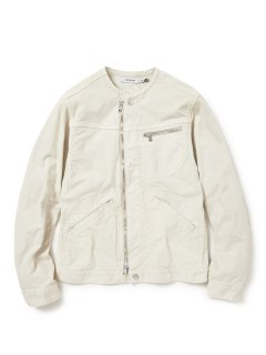 nonnative WORKER JACKET C/P OXFORD STRETCH VW OVERDYED