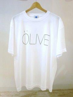 GDC OLIVE BIG tee(ホワイト)