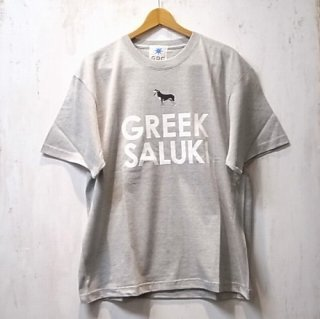 GDC GREEK SALUKI BIG tee(グレー)