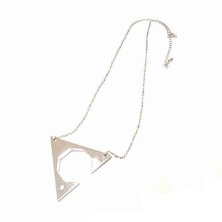 GDC GEOMETRIC CHAIN NECKLACE(シルバー)