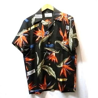 WACKO MARIA DJ HARVEY × WACKO MARIA HAWAIIAN SHIRT ( TYPE-2 )