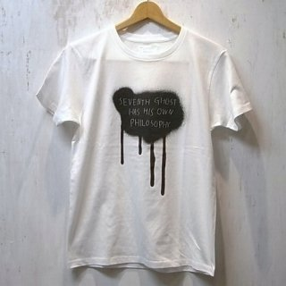 WRIGHT Tee-shirt(His Grafitti)(ホワイト)