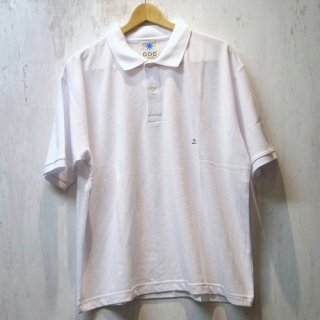 GDC BIG POLO SHIRT(ホワイト)