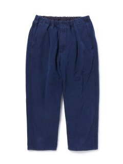 nonnative MANAGER EASY SHIN CUT PANTS RELAX FIT COTTON GROSGRAIN