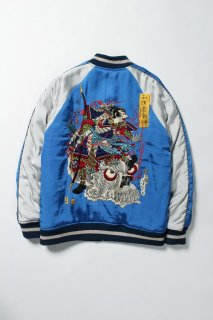WACKO MARIA REVERSIBLE SKA JACKET -A- ( TYPE-3 )(ブルー×ブラック)